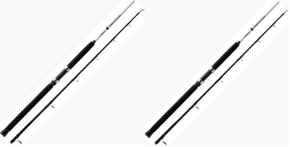 2 x okuma 6 ft boat fishing rods g force 2 section 20 for Boat fishing rods