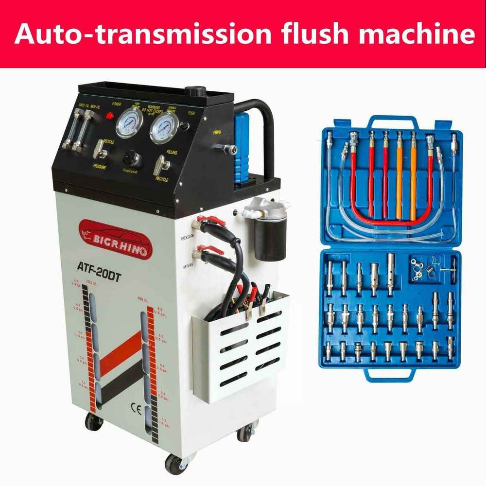 automatic transmission fluid exchange machine