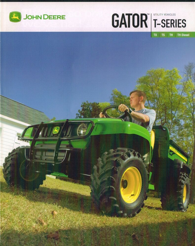 2007 john deere gator tx ts th brochure with options. Black Bedroom Furniture Sets. Home Design Ideas
