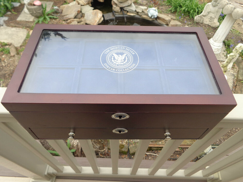 Danbury Mint Uncirculated Morgan Silver Dollars Display Case Only Ebay