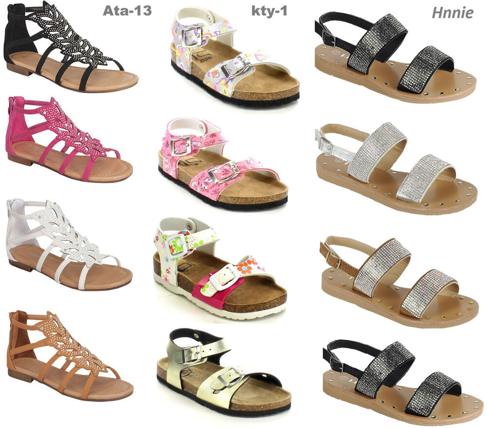 Girl Buckle T Strap Shoes