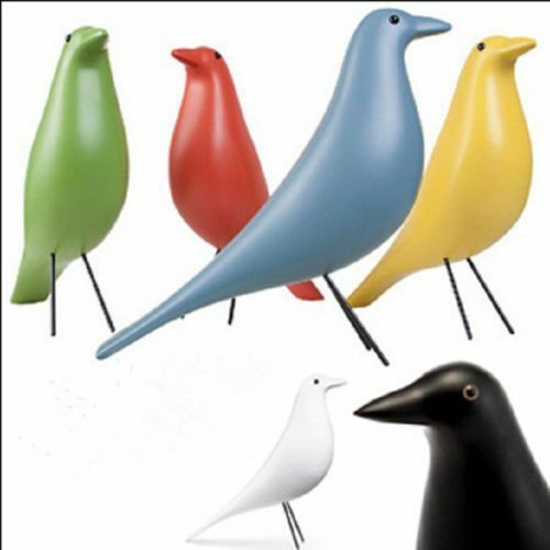 vitra eames house bird design by charles ray eames home decor desk ornament ebay. Black Bedroom Furniture Sets. Home Design Ideas