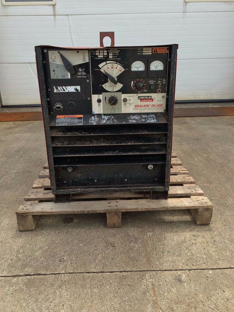 lincoln electric k1308 idealarc dc 400 stick welder ebay. Black Bedroom Furniture Sets. Home Design Ideas