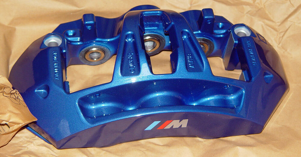 Bmw Brand F10 M5 F12 F13 M6 Blue Brembo Front Right