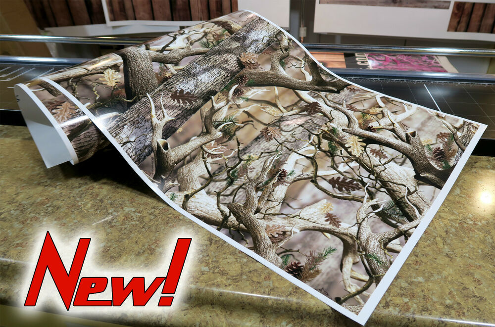 Gloss Camo Decal Made From 3m Wrap Vinyl Truck Camo Tree