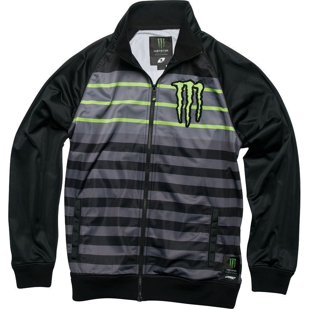 monster energy university track jacket one industries. Black Bedroom Furniture Sets. Home Design Ideas