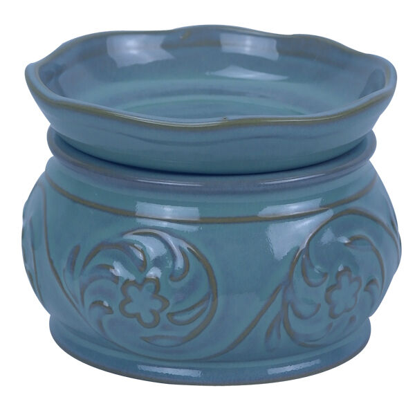 Electric Wax Tart Burners ~ Blue tart warmer wax melter candle burner ebay