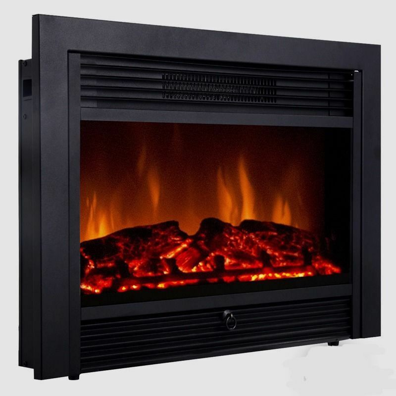 Embeddable Electric Wall Insert Fireplace 28 5 Quot Home
