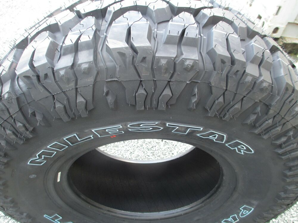 Truck Mud Tires >> 4 New 33x12.50R15 Milestar Mud Tires 33125015 33 12.50 15 M/T MT 3312.5015 R15 758823176210 | eBay