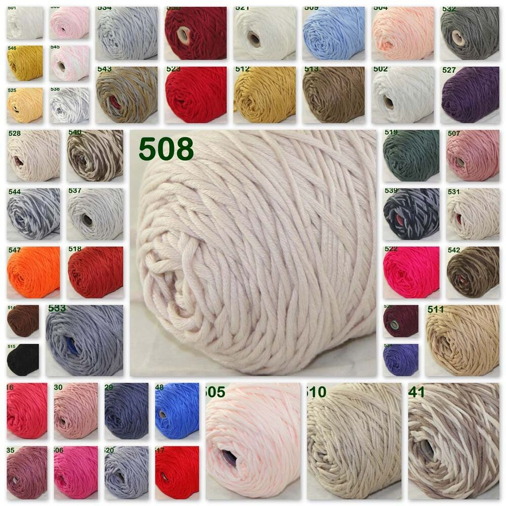 5ac5d8cc9b95 Sale New 1 Cone 400g Soft Worsted Cotton Chunky Super Bulky Hand ...