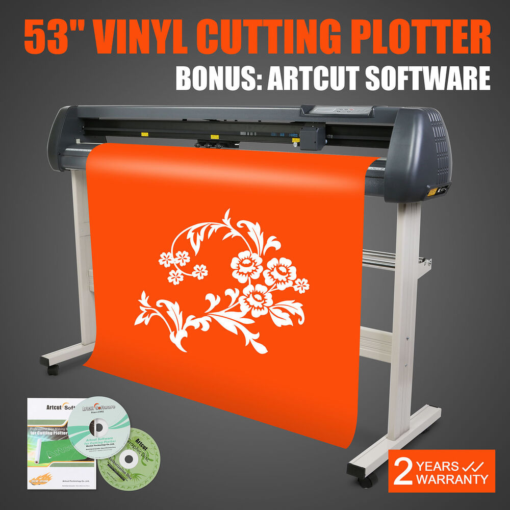 53 Quot Vinyl Cutter Plotter With Sign Mark Function Sign
