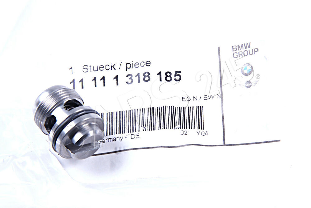 Genuine Bmw E36 E46 E85 E86 Z3 Oil Relief Pressure Valve Oem