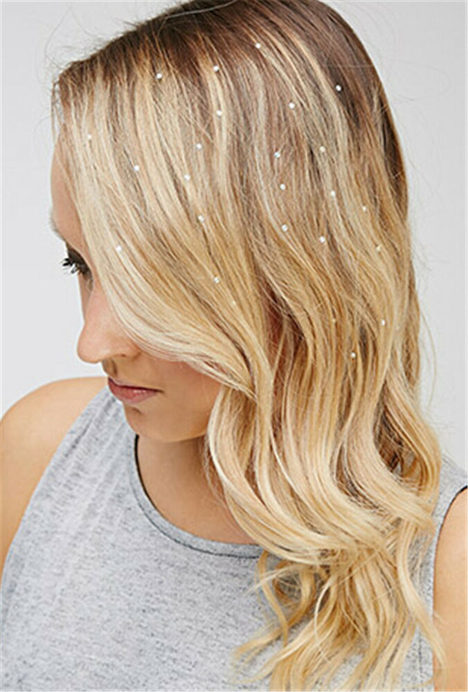 Jewell Hair: Charming Iron On Jewels Hair Extension Straightener