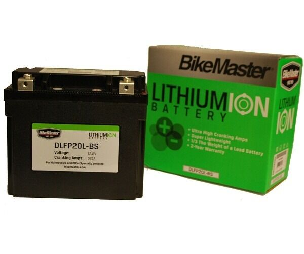 bikemaster lithium ion 12v motorcycle battery dlfp 20l bs ebay. Black Bedroom Furniture Sets. Home Design Ideas