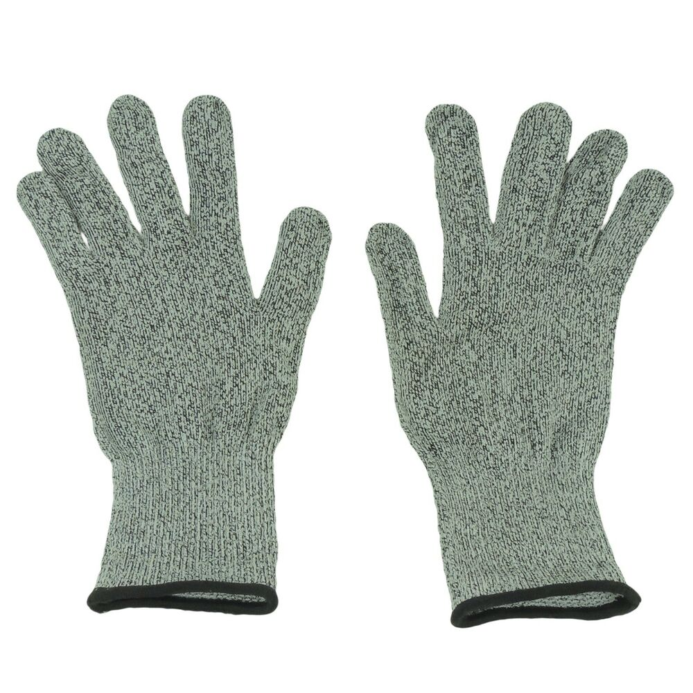Safety Cut Proof Stab Resistant Woven Mesh Butcher Gloves