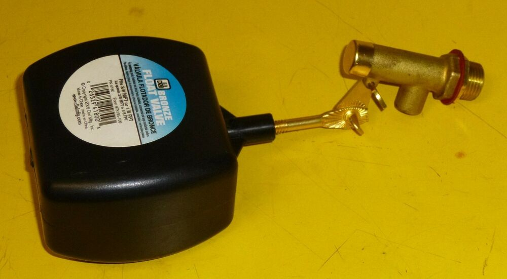 Heavy Duty Leveler Auto Fill 3 8 Water Float Valve W 3