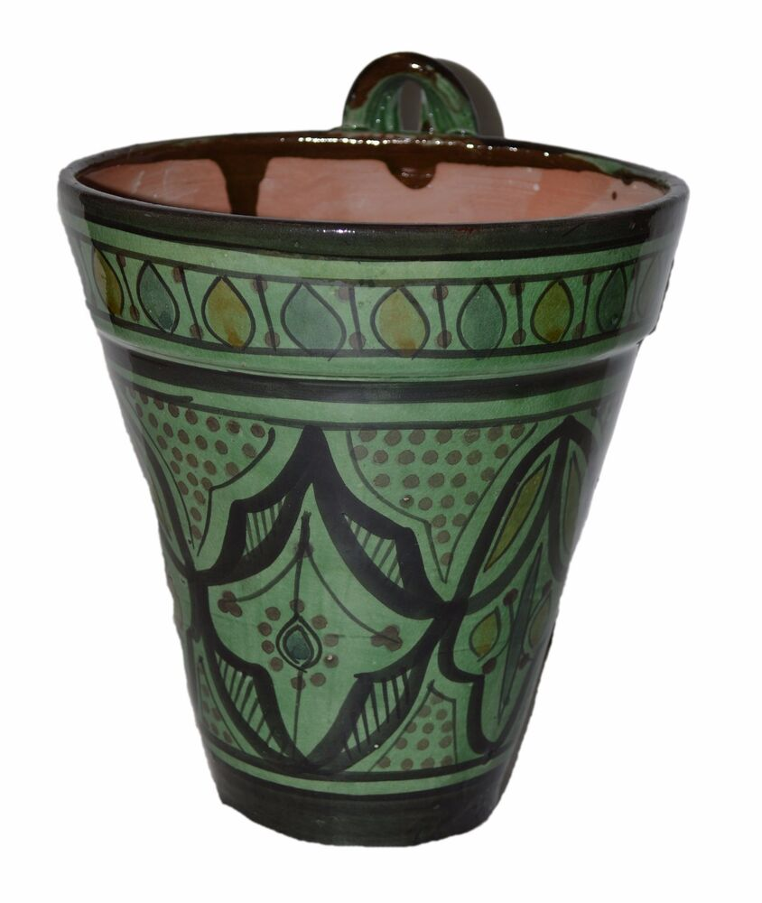 ceramic flower pots moroccan mediterranean flower pot ceramic terracotta 29963