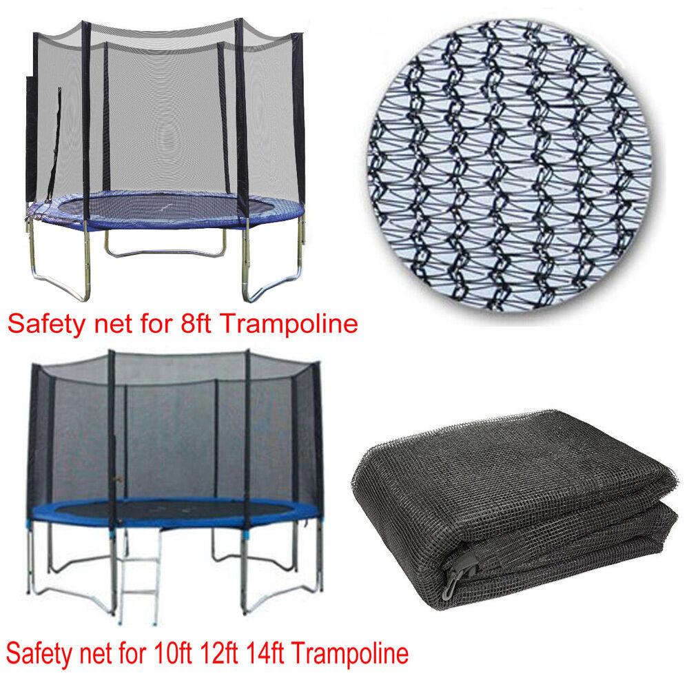 8FT 10FT 12FT 14FT REPLACEMENT TRAMPOLINE SAFETY NET ONLY