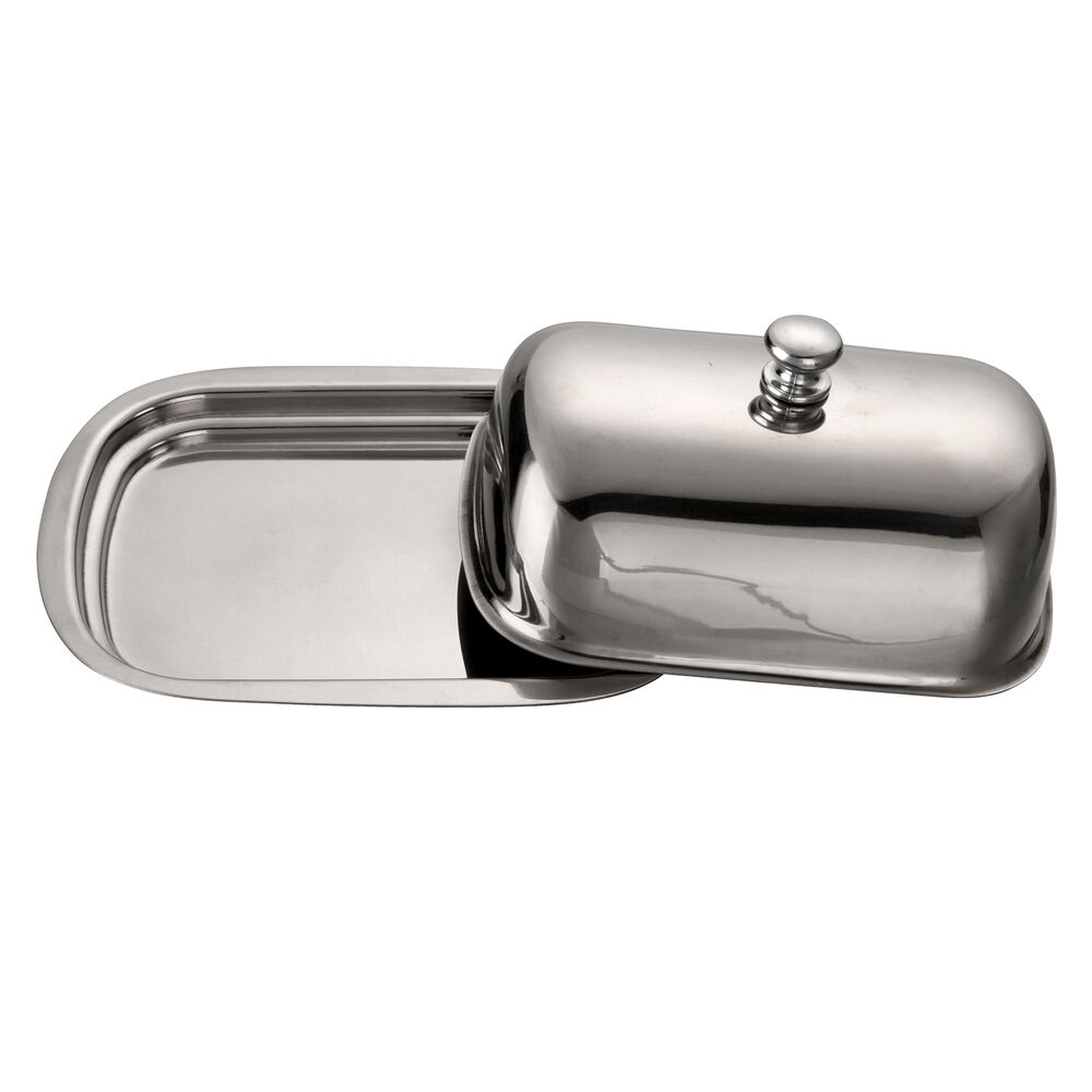 Vonshef Stainless Steel Retro Butter Dish With Lid Ebay