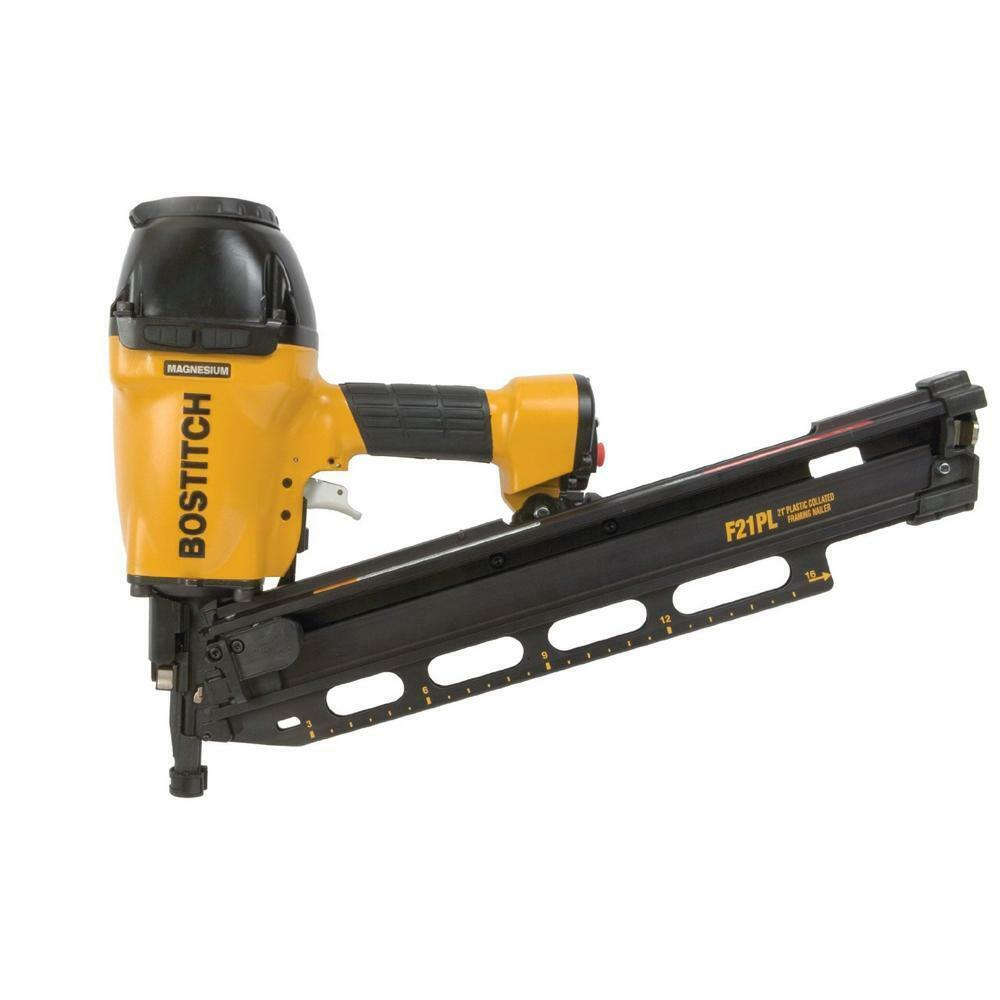 Bostitch F21pl 1 1 2 Quot To 3 1 2 Quot Framing Nailer With