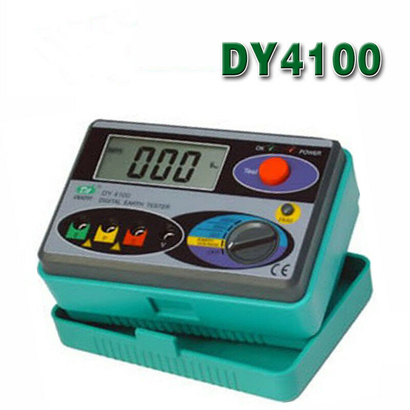 Ground Impedance Tester : Dy digital earth ground resistance tester meter ebay