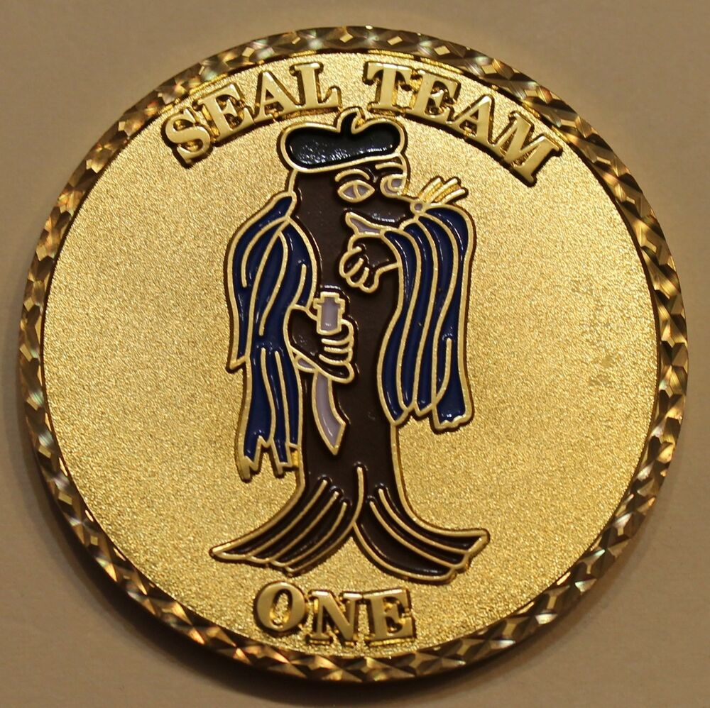 Naval Special Warfare Seal Team 1 One Navy Large 2