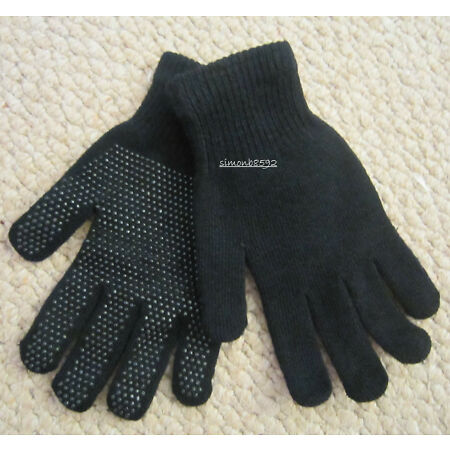 img-NEW BLACK STRETCH MAGIC CONTACT GLOVES ONE SIZE FITS ALL,KIDS-ADULTS,SYNTHETIC