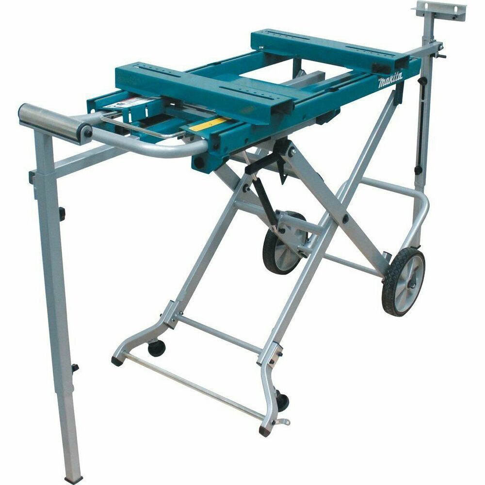 Makita Wst05 46 Inch Compact Tool Less Miter Saw Stand Ebay