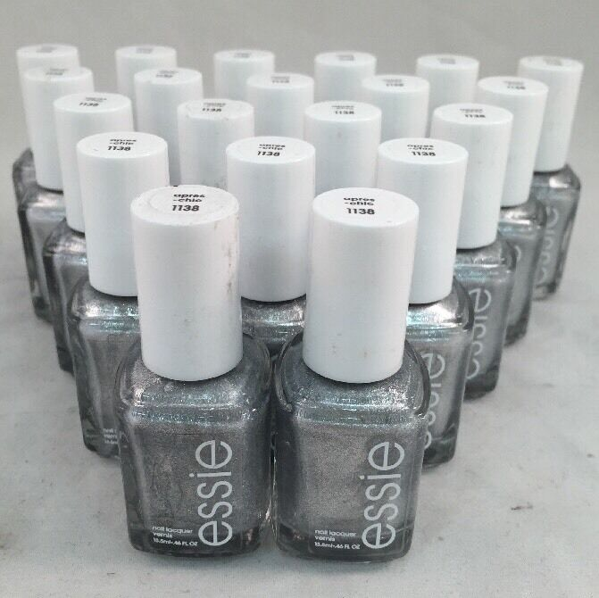 Lot Of 20 Essie Wholesale Nail Polish Silver Baby Bridal Shower Party Favor Ebay