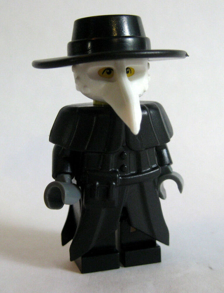 Custom Lego Plague Doctor Minifigure Medieval Castle