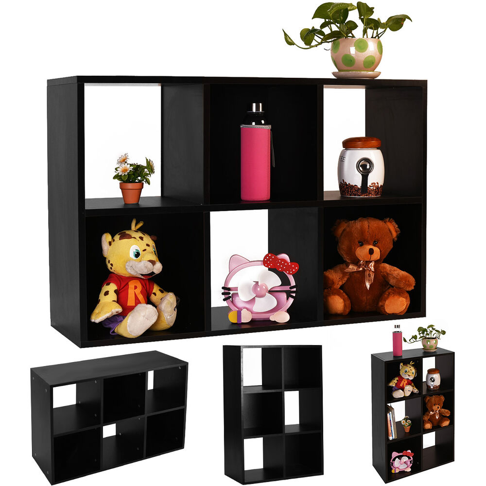 office shelf organizer black 6 cube organizer storage shelf bookcase home office 23950