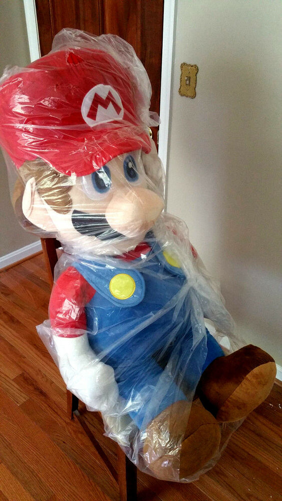 Toys That Are 48 20 : New genuine nintendo licensed giant life size super mario