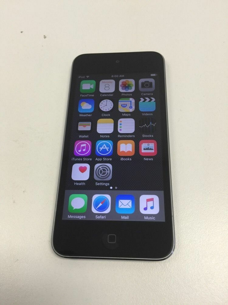 Apple iPod touch 5th Generation Space gray 16GB (GREAT ...