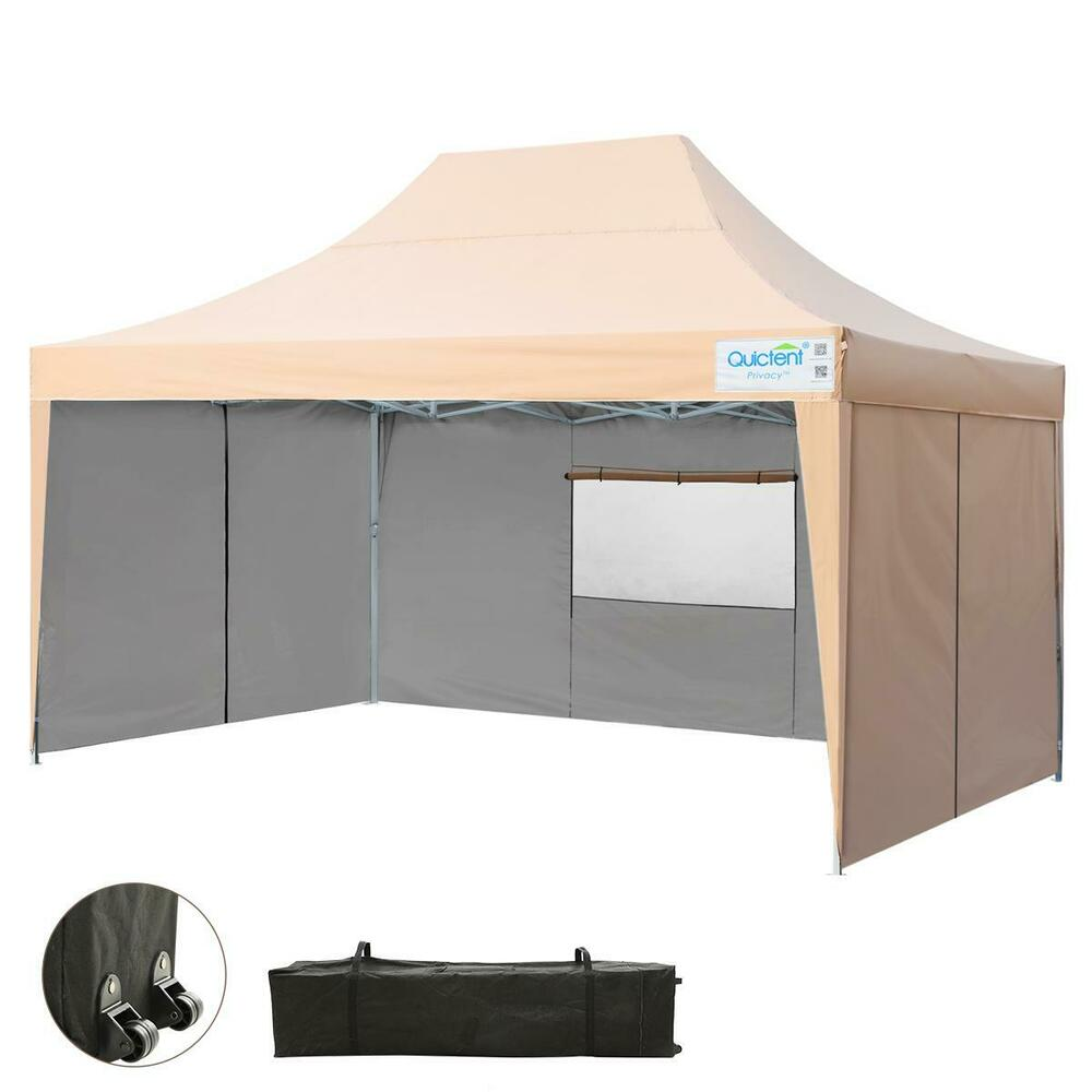 Upgraded Quictent 10x15 Easy Pop Up Canopy Tent Party Tent