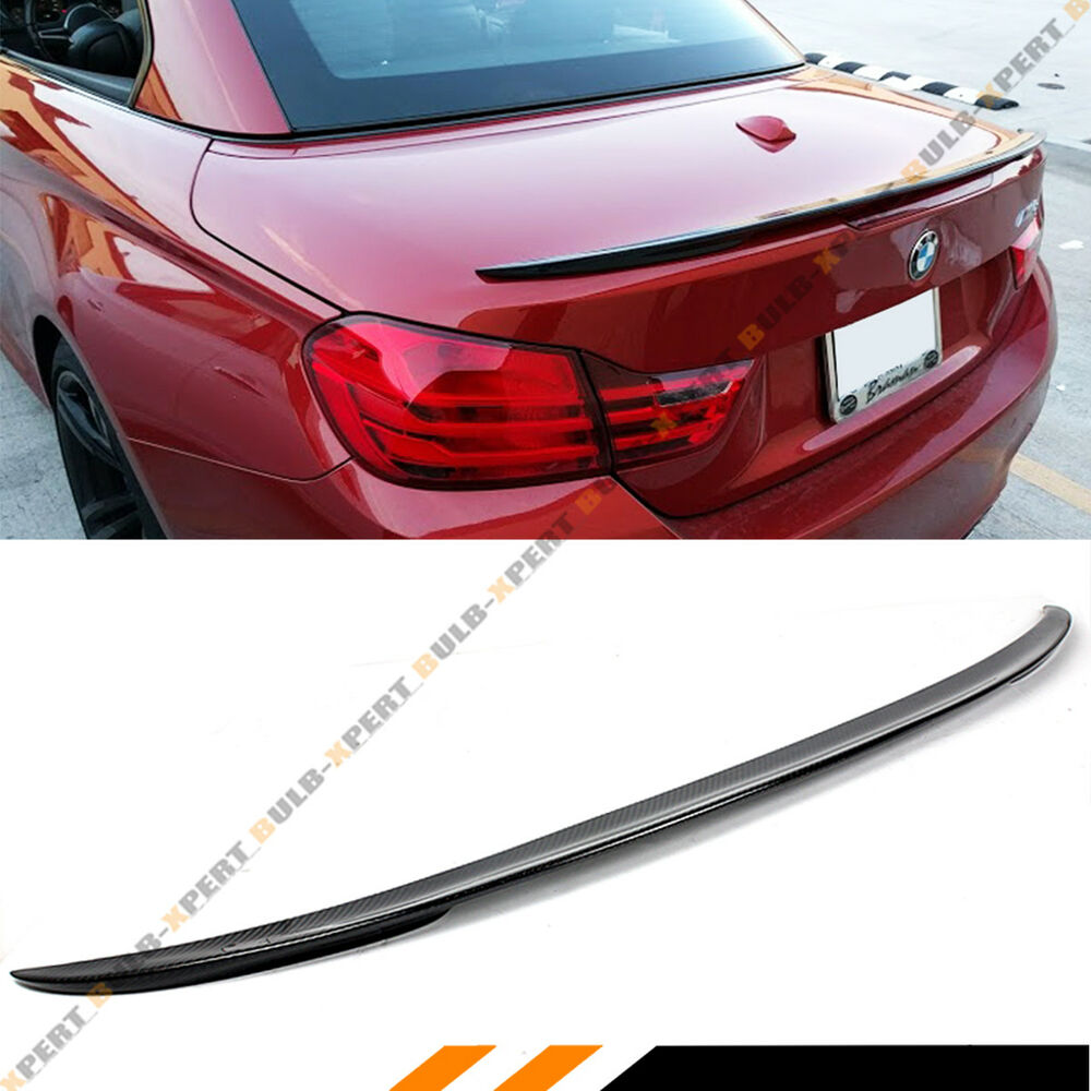 FOR 2015-2019 BMW F83 M4 CONVERTIBLE COUPE REAL CARBON