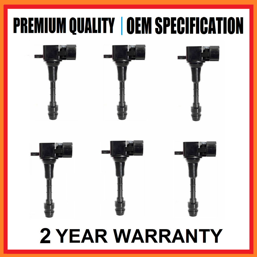 Ignition Systems Coil Pack Set For Nissan Maxima Murano Vq35de Navara Pathfinder Vq40de