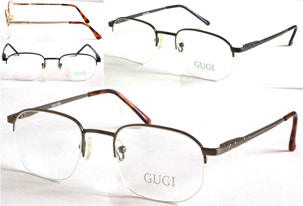 Rimless Transition Glasses : GI023 Transitions BIFOCALS BIFOCAL Reading Glasses Half ...