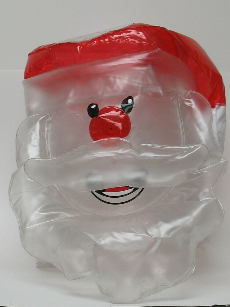 Inflatable santa claus solar light covers xmas holiday w