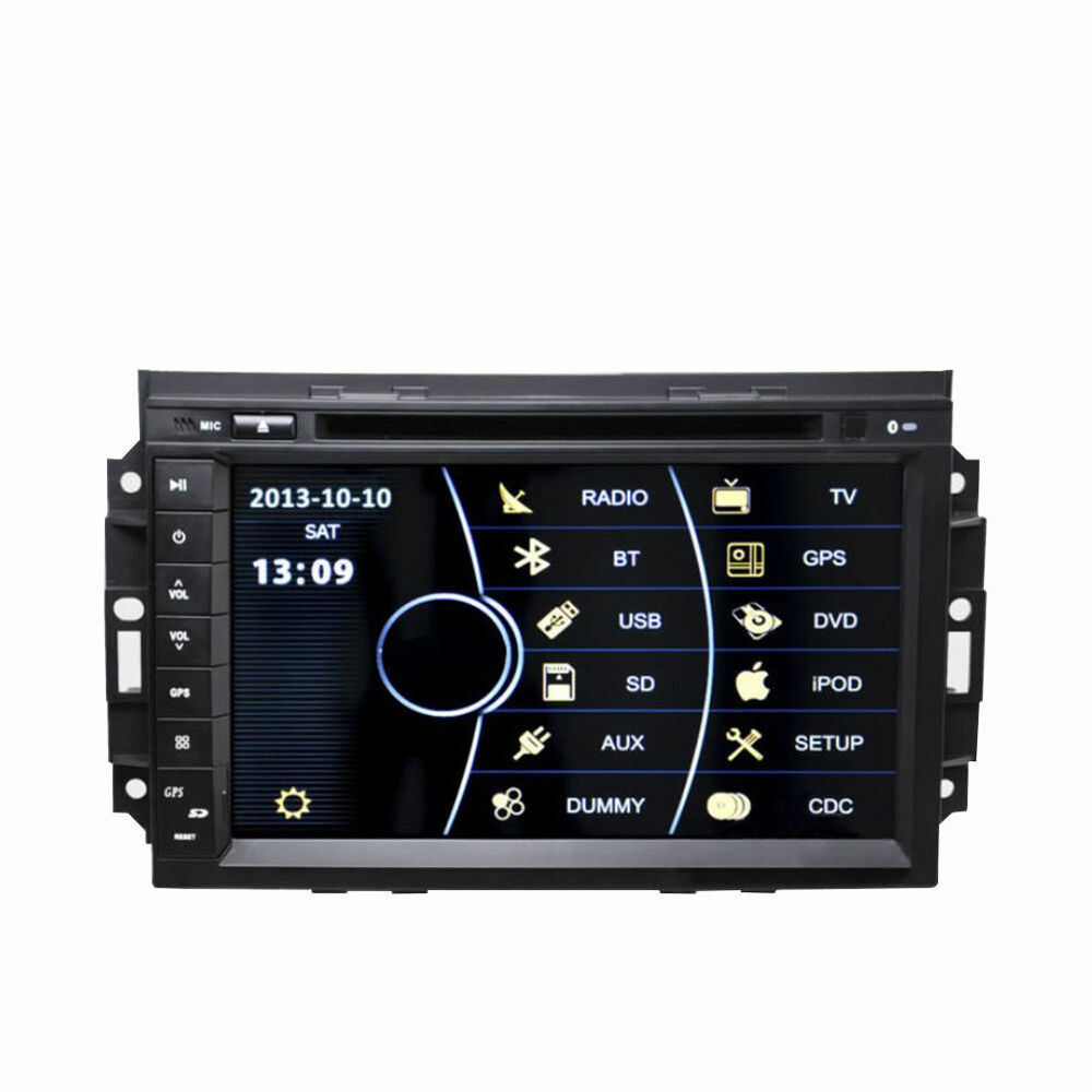 Vehicle Stereo Gps Navigation For Chrysler 300c Jeep Dodge: In Dash Car GPS Navigation DVD Radio Stereo For Chrysler