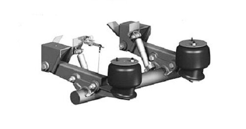 25k Lift Axle For Trailer : New saf holland trailer lift axle air suspension rl