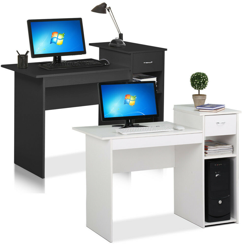 Desk computer table home office furniture workstation pc for Home office workstation desk