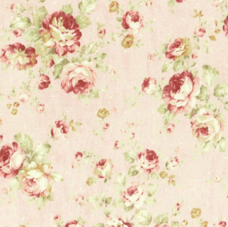 Cottage Shabby Chic Lecien Durham Quilt Floral Cotton