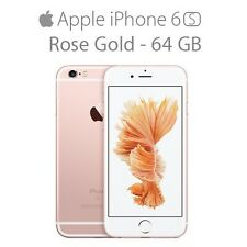 BN iPhone 6S ROSE GOLD 64GB Manufacturer Sealed 12 Month Apple Warranty