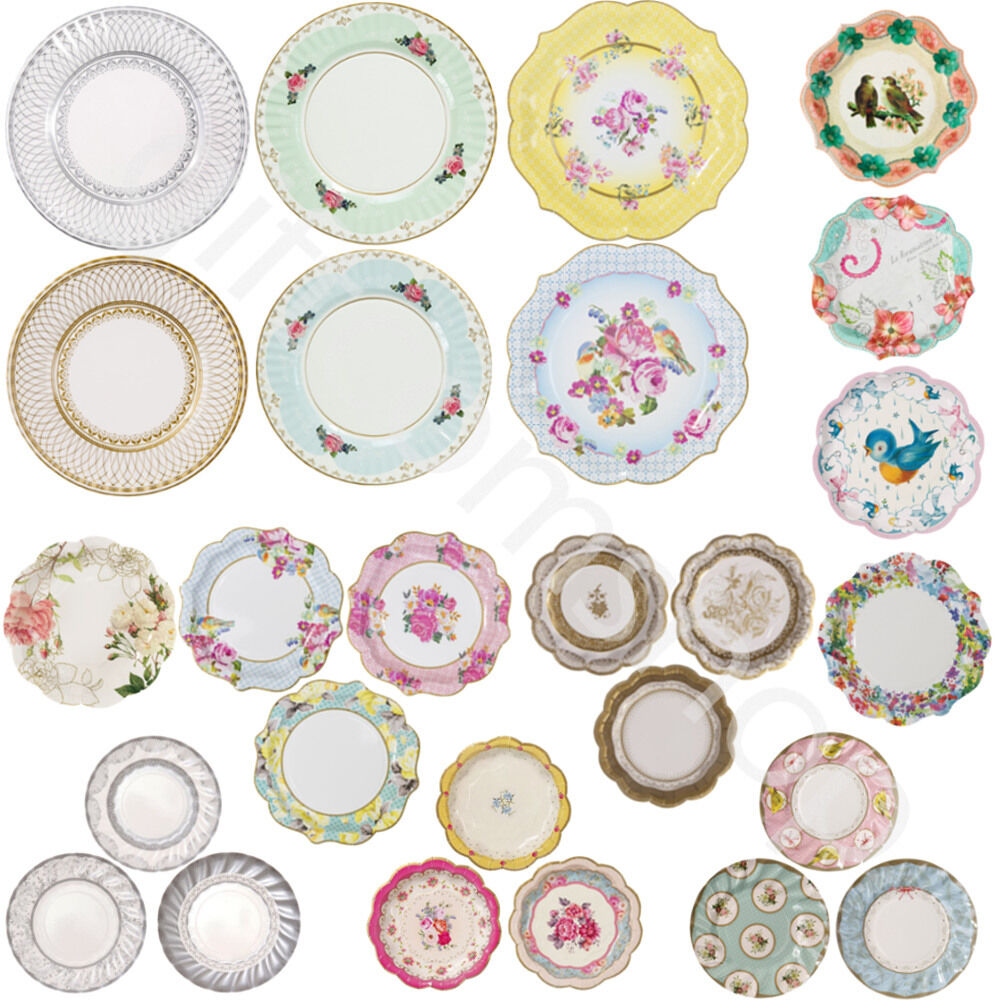 tea party paper plates Vintage afternoon tea party ideas truly romantic tea party entertain your  truly romantic tea party plates  mint & white stripy paper straws add.