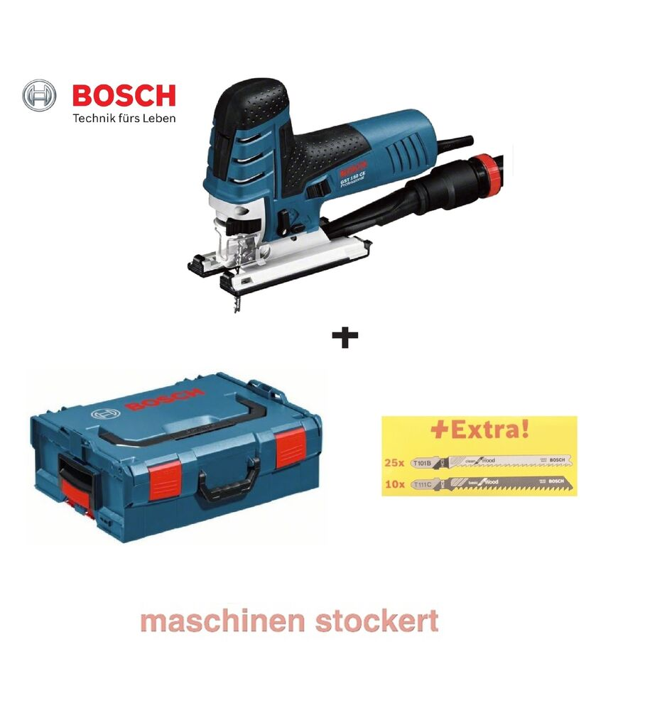 bosch gst 150 ce stichs ge inkl l boxx 780 watt 35 s gebl tter pendelhub ebay. Black Bedroom Furniture Sets. Home Design Ideas