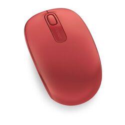 Microsoft Wireless Mobile Mouse 1850 - kompakte, kabellose Maus [Rot]