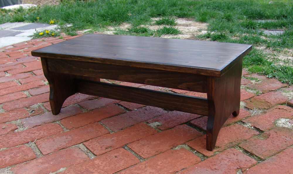 Handcrafted Heavy Duty Step Stool 24 Quot L Wood Kitchen