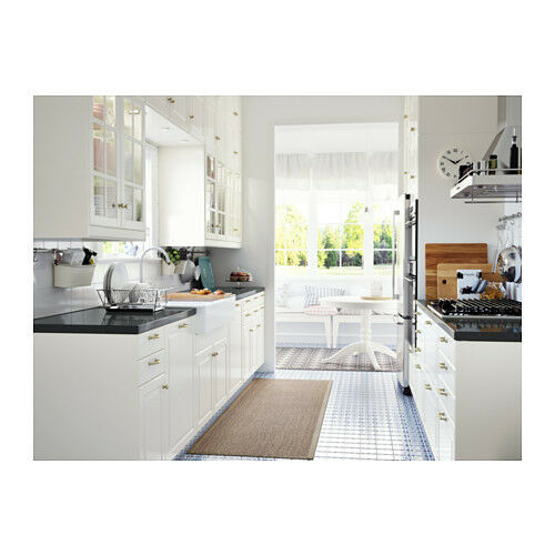 White Kitchen Shelf: Ikea BODBYN White Kitchen Cabinet Door Front Drawer Fronts