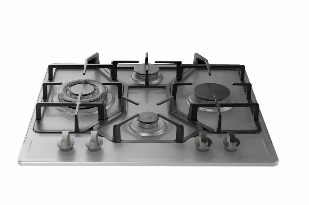 empava 24 stainless steel 4 italy imported sabaf burners stove tops gas cooktop ebay. Black Bedroom Furniture Sets. Home Design Ideas