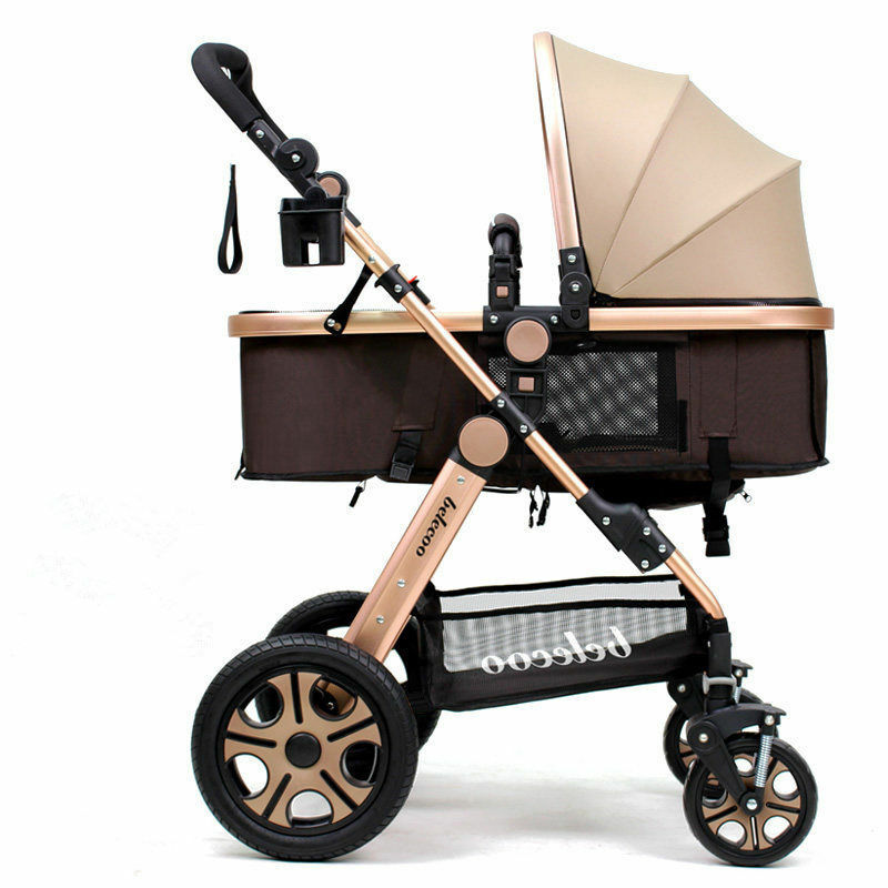 2016 Newborn Carriage Infant Travel Car Foldable Pram Baby ...
